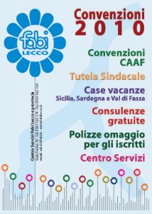 Convenzioni 2010